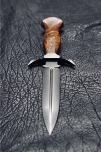 Black Scale Forge Knife