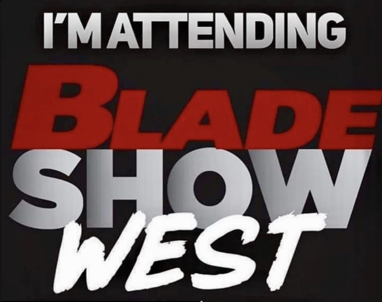 BLADE Show West badge