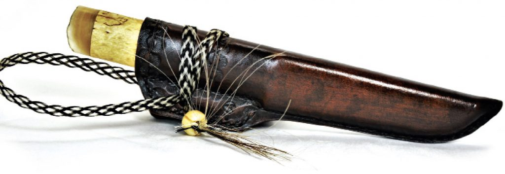 Knife with sheath