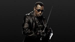 Blade with a blade