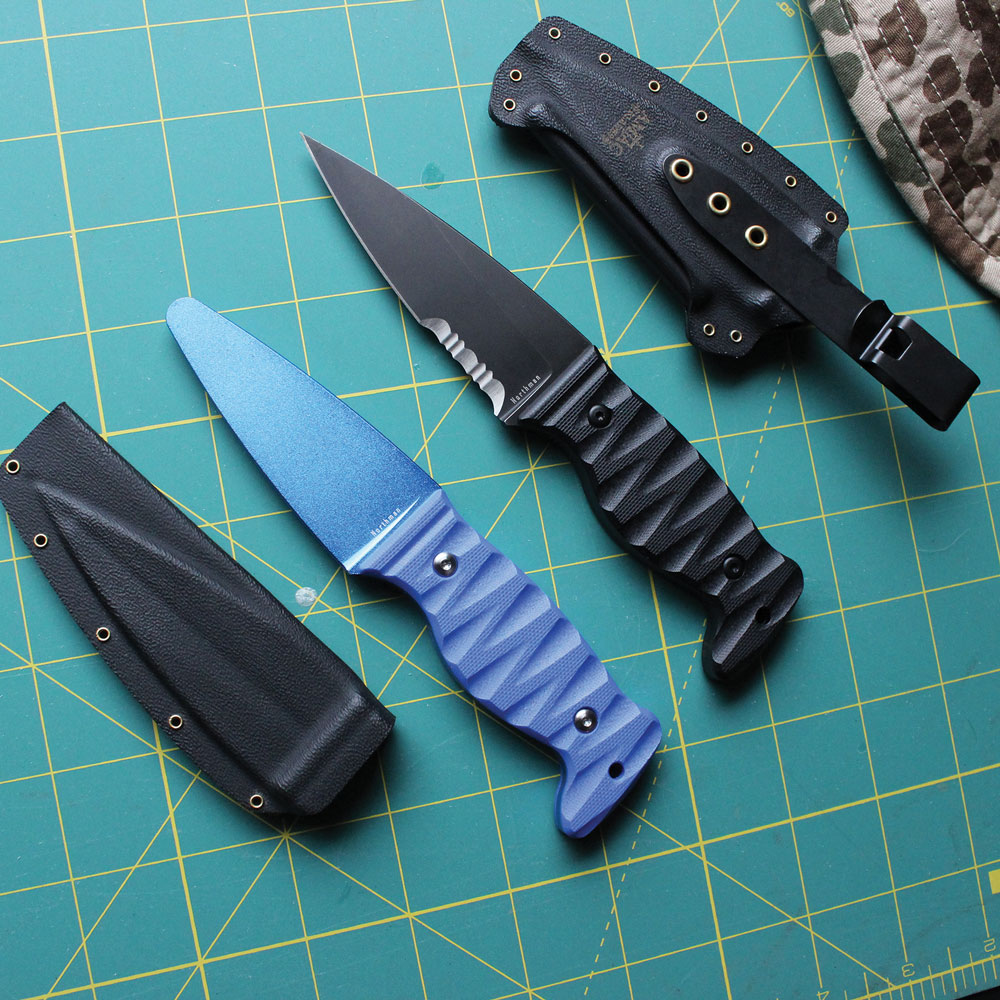 The Amtac Northman comes with a perfectly dimensioned training blade for practice and drilling of combative techniques