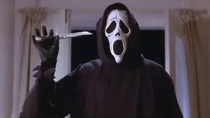 Scream with knife