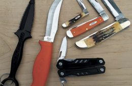 assorted knife types