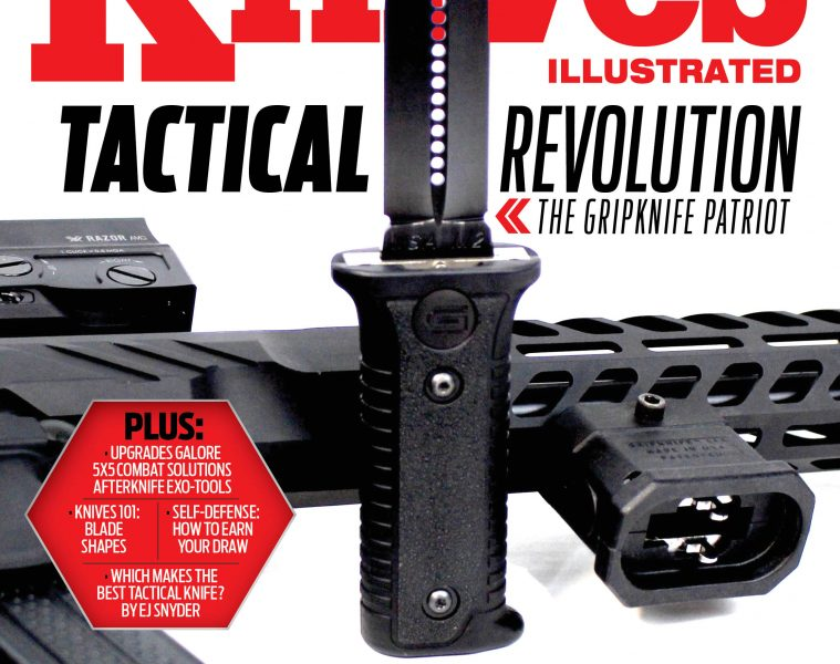 Knives Illustrated magazine March/April 2020 cover image