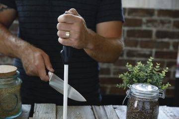 tool to create sharp kitchen knife