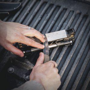 guided knife sharpener