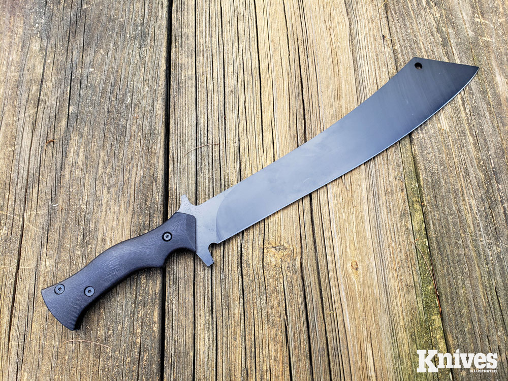 the blade profile of the Chop House is really inspired by the Chinese Dao sword.