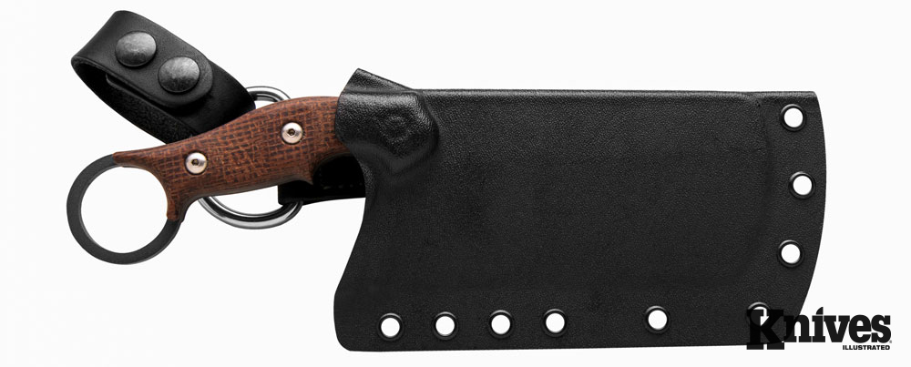 The sheath for the TOPS Knives Tidal Force
