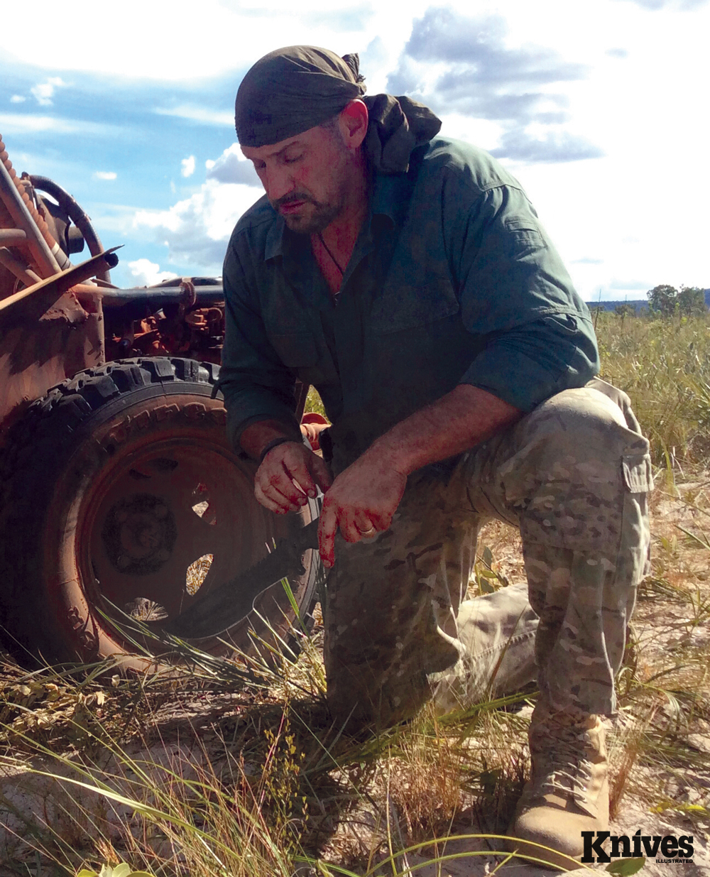 Author and Survivalist EJ SNYDER