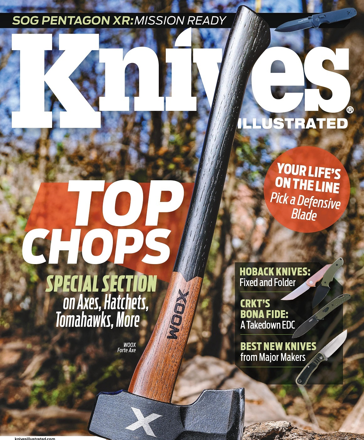 Knives Illustrated Magazine Cover May/June 2021