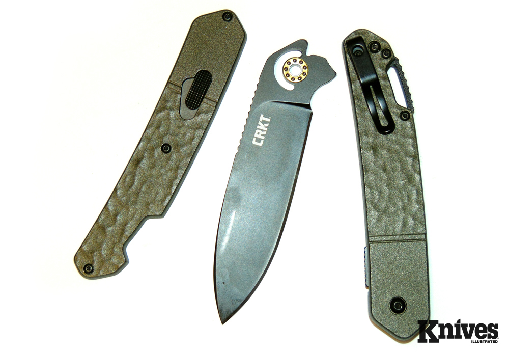 Once disassembled into its three major components, the Bona Fide is easy to clean—a big advantage over other folders.