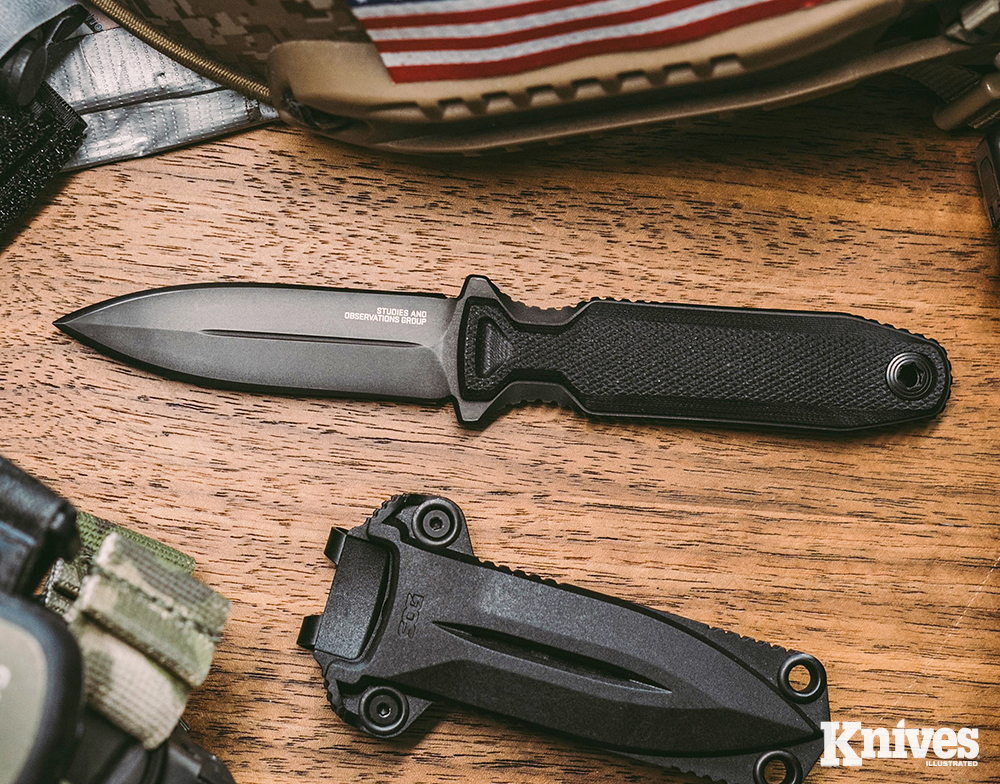 A fixed blade has an advantage over a folder, which might be difficult to open quickly under the stress of a deadly conflict.