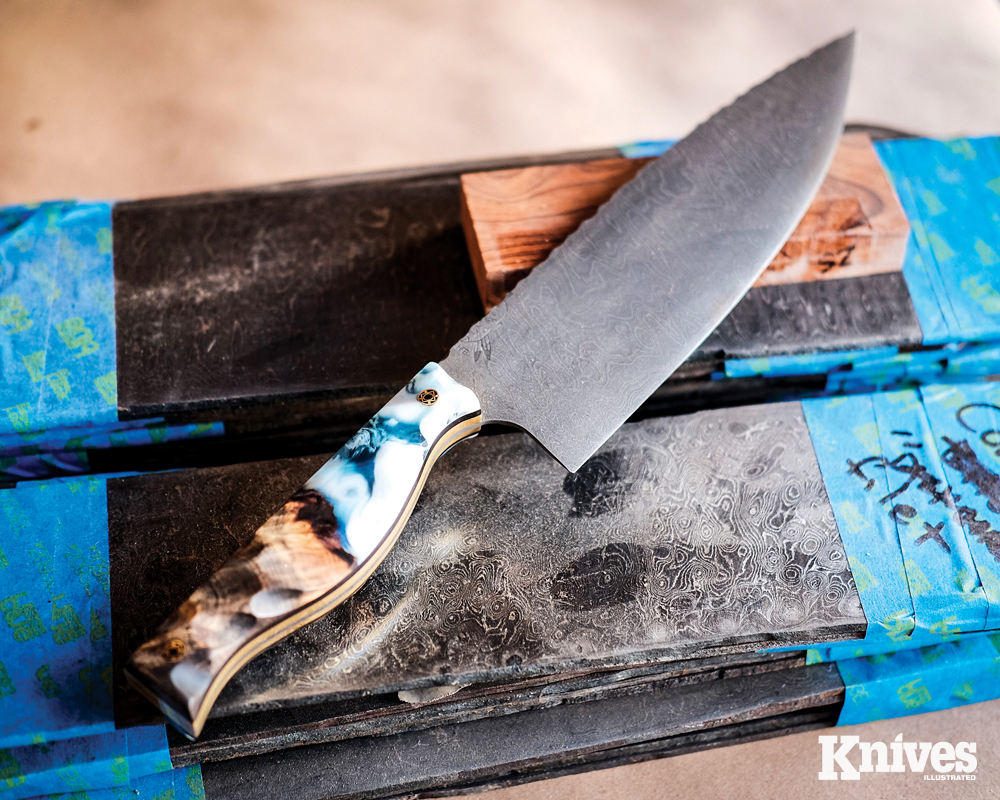 "The retired SEAL says that each knife is ""embodied with a warrior's spirit."""