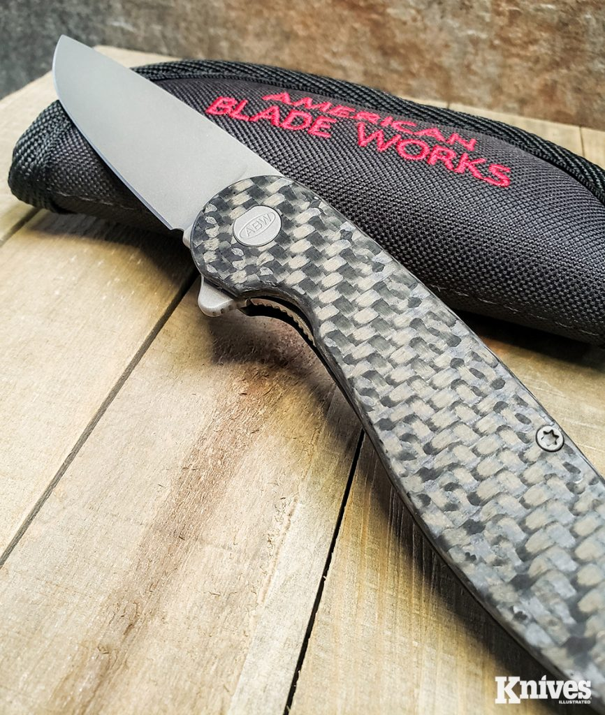 The pivot and pivot screw on this knife are made from hardened 416 stainless steel for extra durability.