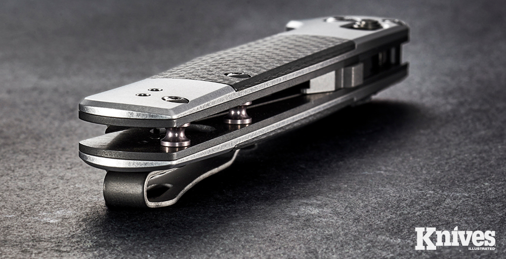 Benchmade takes pride in the fine details, like smooth and polished interior bolts and fasteners.