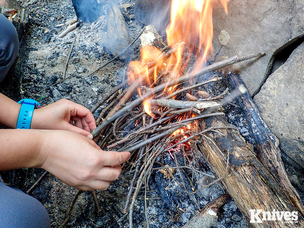 The healthy benefits of a good campfire are irreplaceable. Get everyone involved to contribute to what may be the best part of the trip, rich with storytelling and skills practice.