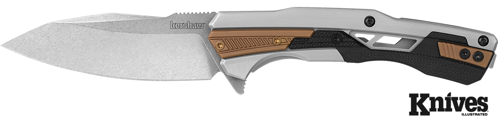 Kershaw adds to its line of assisted opening fl ippers with the 2095 Endgame, an elegant EDC piece with a rugged D2 tool steel blade.