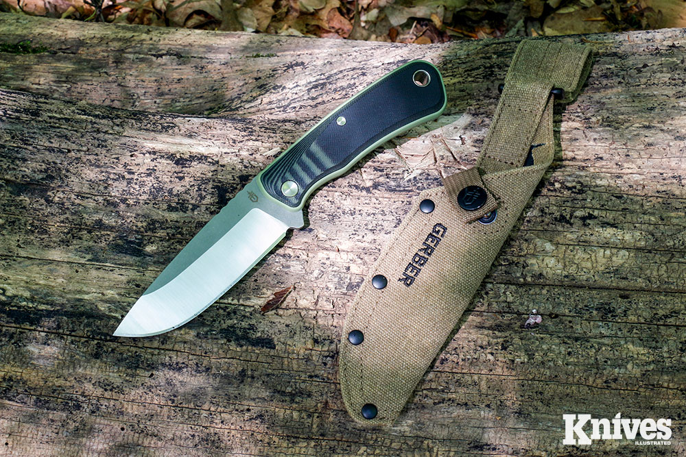The Downwind Drop Point is sized right to make a great all-around field knife.