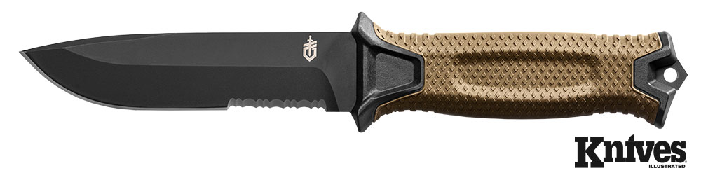 The Strongarm knife by Gerber Gear exemplifies a no-frills knife, but don't let that deceive you.
