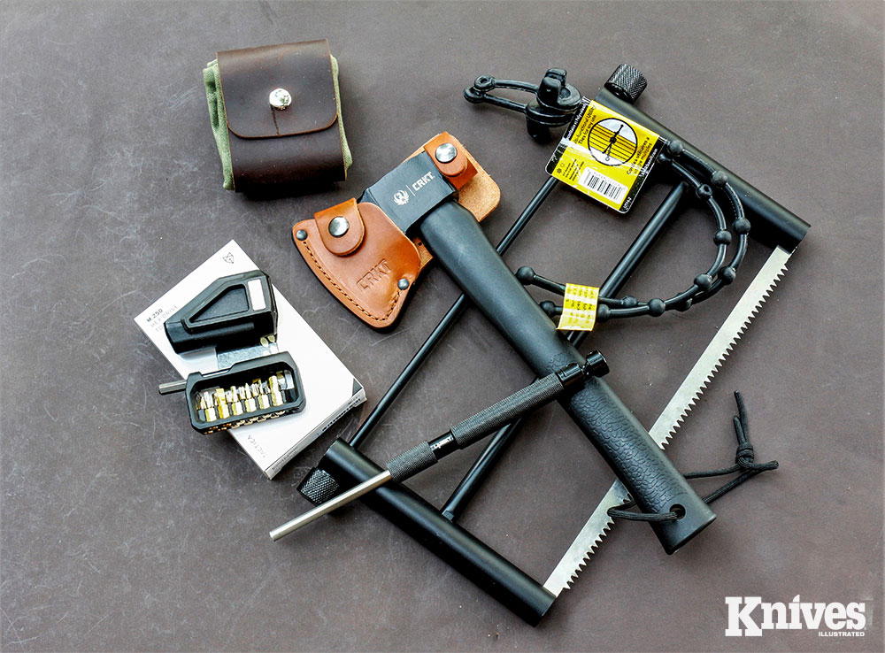 Not all the tools included in Gear Pack boxes are knives.