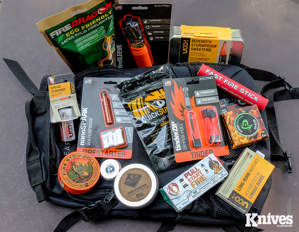 Fire-starting products are usually very popular with Gear Pack subscribers.