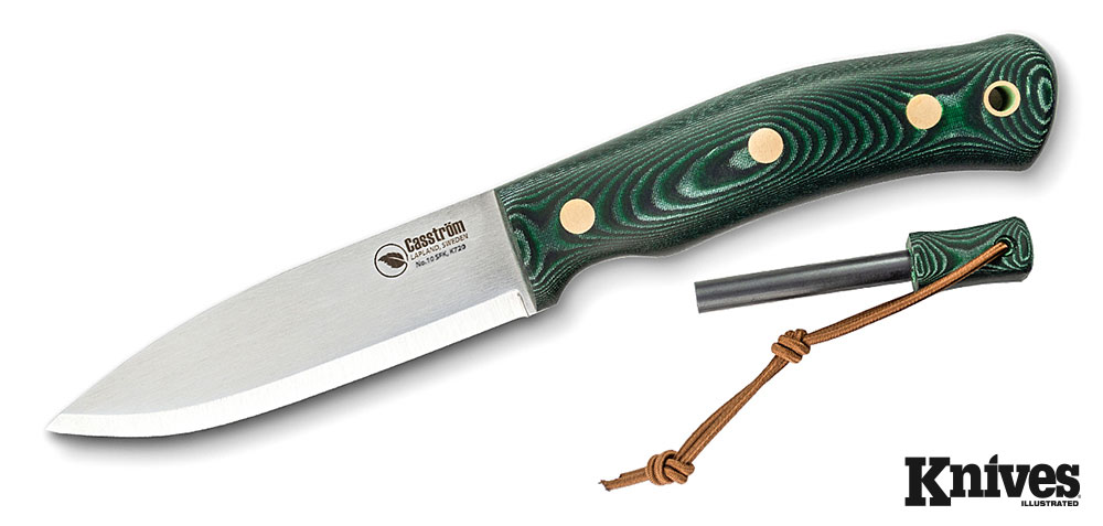Casstrom No. 10 Bushcraft Knife and Ki