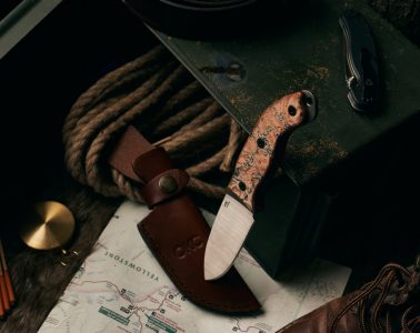 Ontario's new fixed blade knife