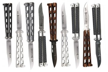 Bear & Son 30th Anniversary Butterfly Knives